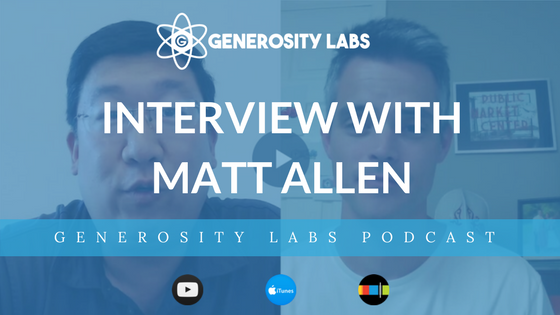 Generosity Labs Podcast with Matt Allen of Thompson Station Church